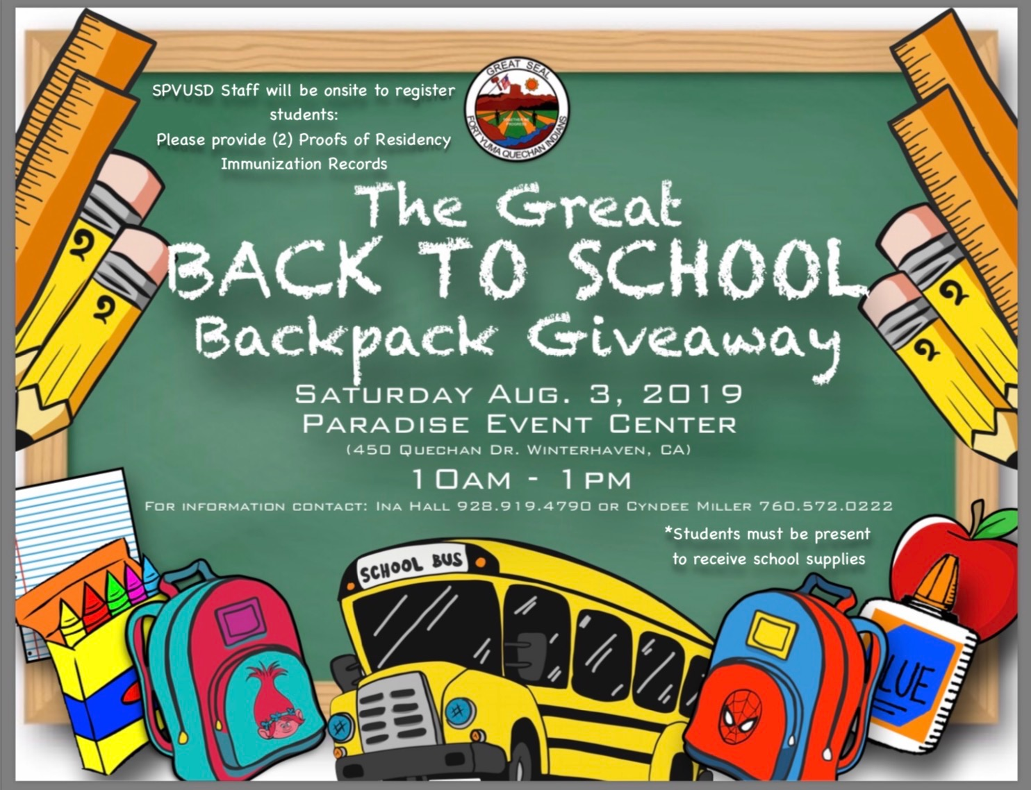 Back to school giveaway 2019 norfolk va